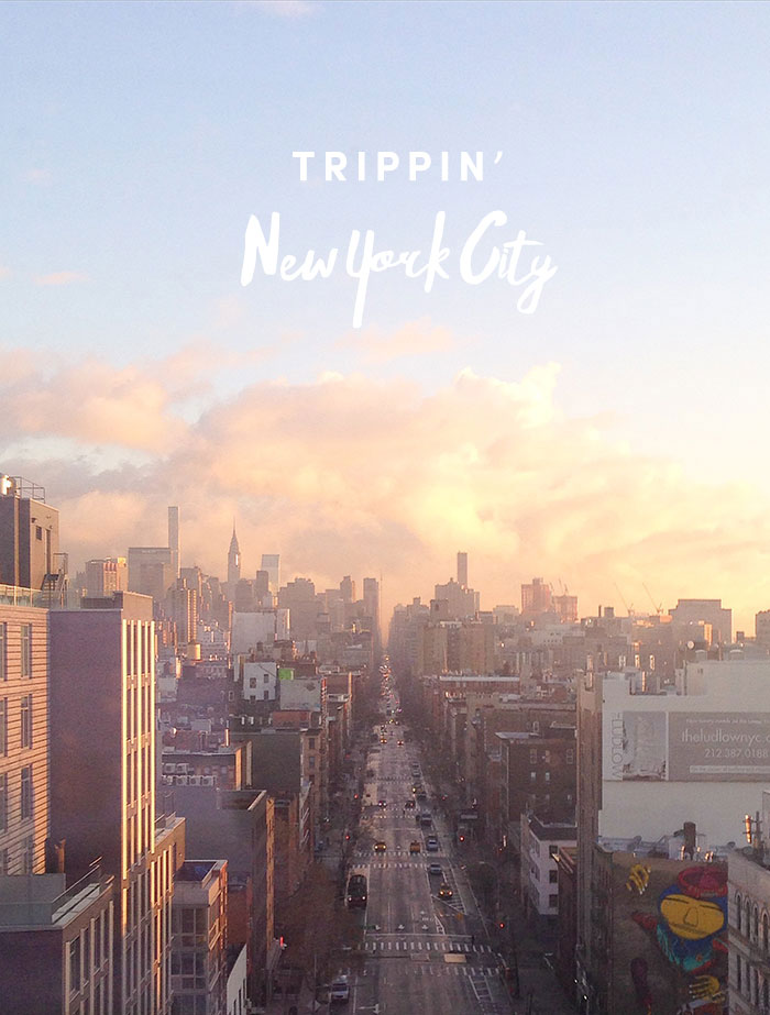 TRAVEL: New York City