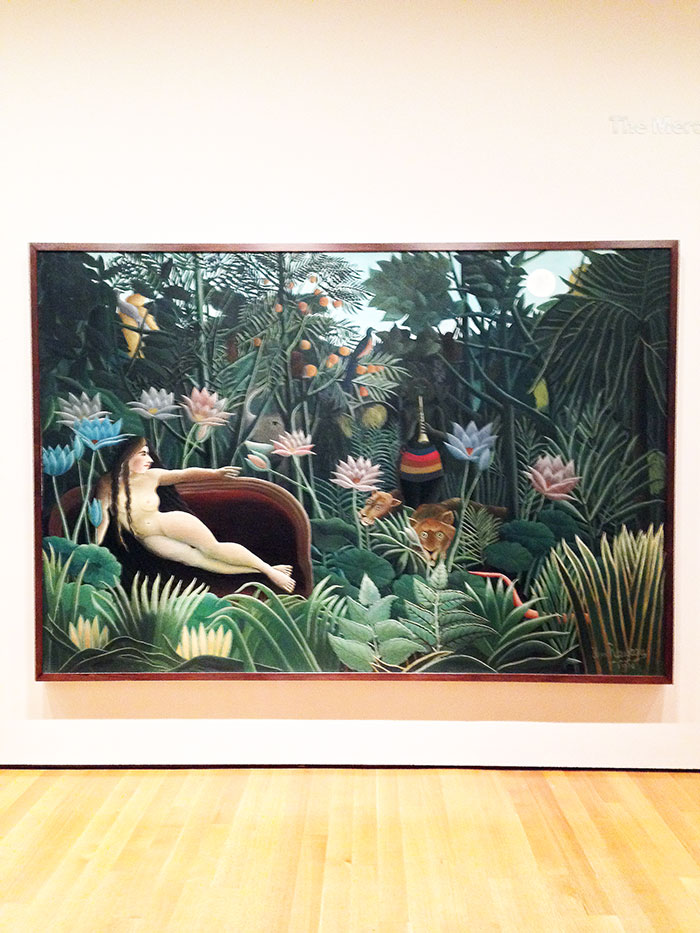 The Dream by Henri Rousseau original at the MOMA New York
