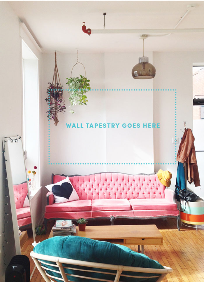 Sweet Escape Studio Wall Tapestry