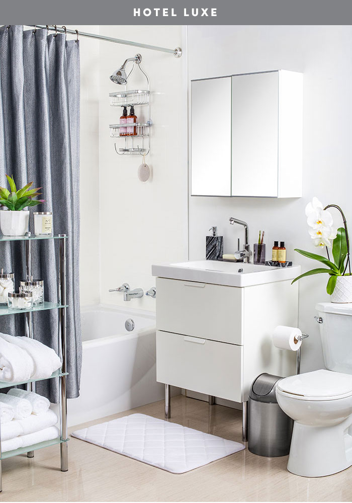 Bathroom Refresh: Get the look, Hotel Luxe by The Sweet Escape