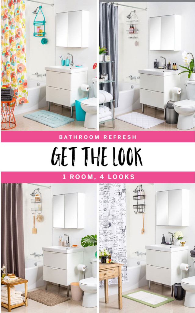Bathroom Refresh, 1 room, 4 looks by The Sweet Escape