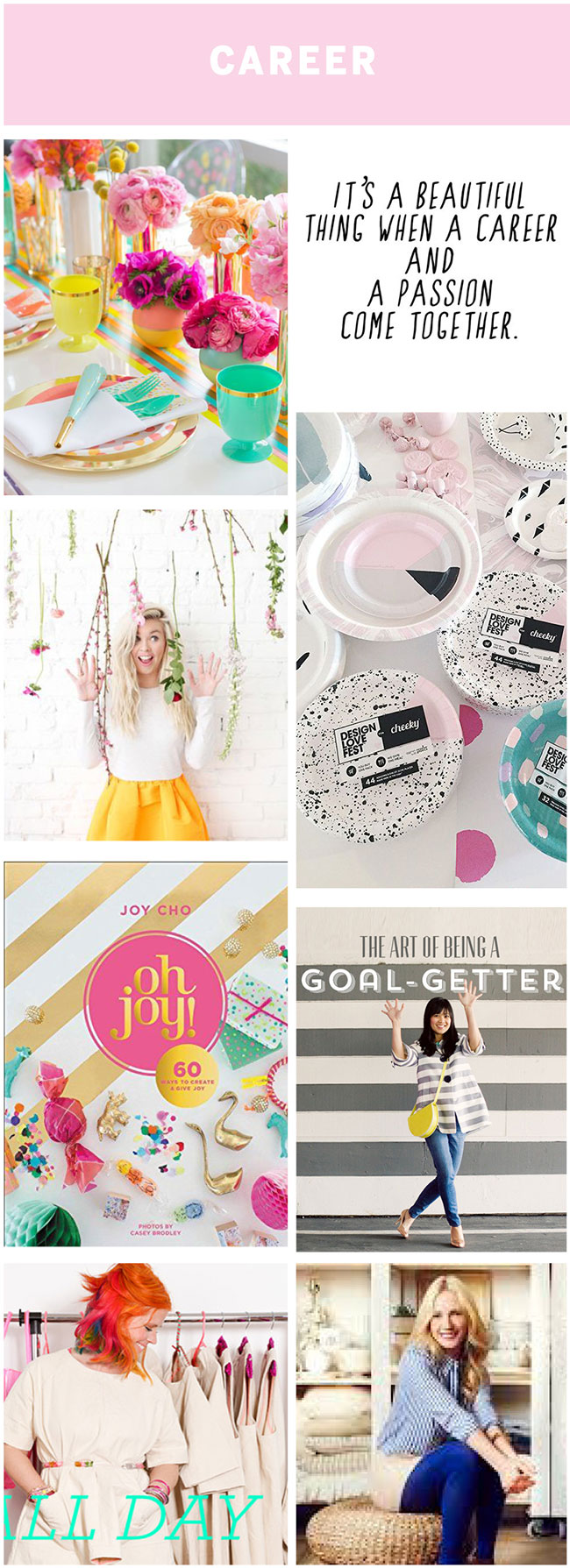 Creating a vision board -career : by The Sweet Escape