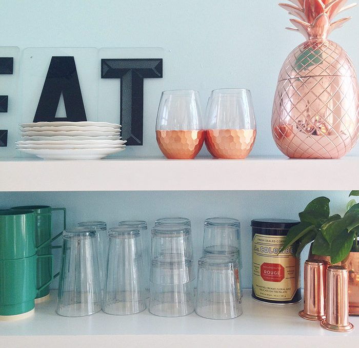 Bright Studio kitchen makeover by The Sweet Escape