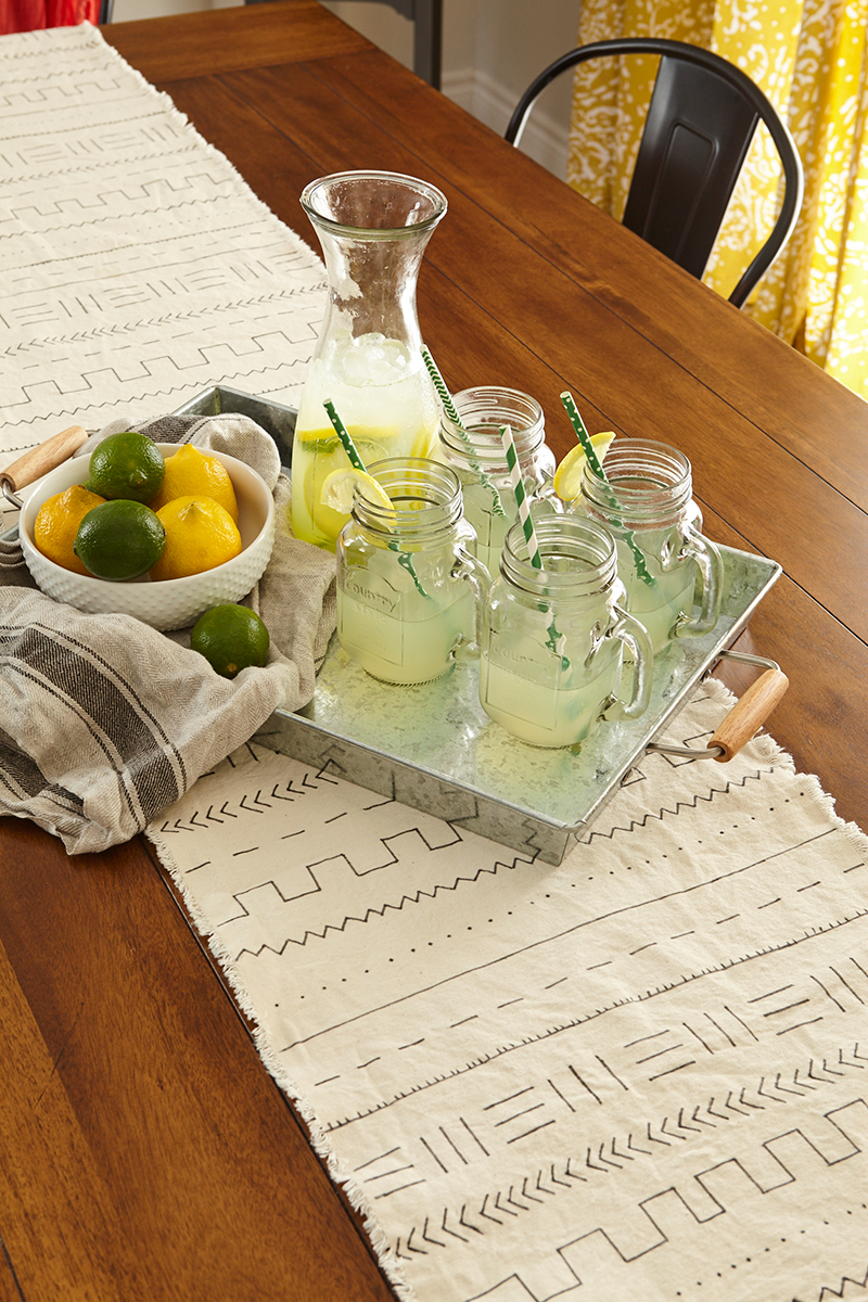 DIY Table Runner in Hello Sunshine by Leon's