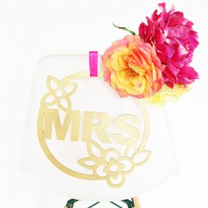 Wedding Chair Hangers by Sweet Escape Occasions