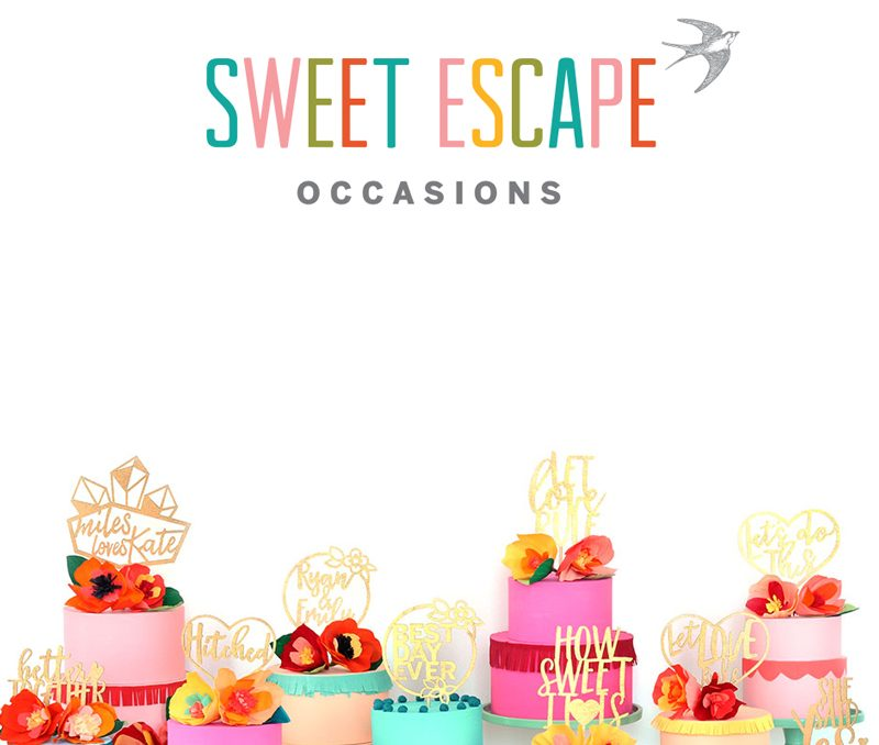 Introducing Sweet Escape Occasions