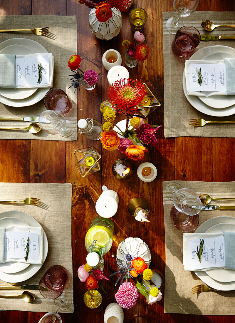 Outdoor Summer Dinner Party in the country - The Sweet ...