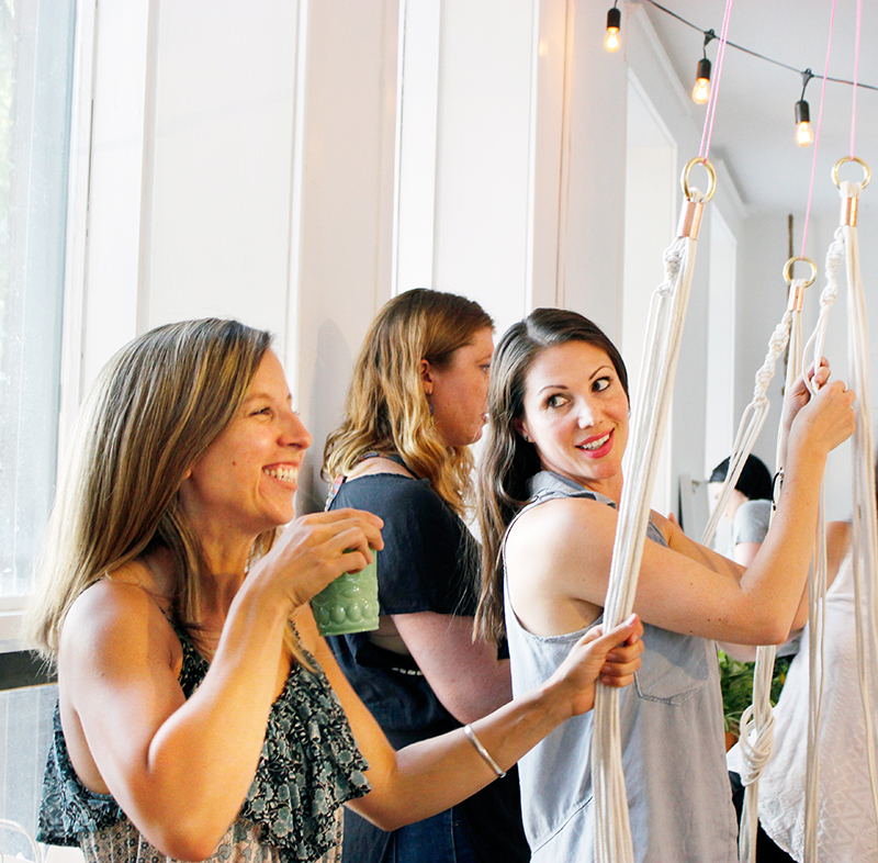 Diy Macrame Plant Hanger Workshop by Sweet Escape Workshops