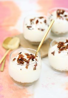 No Bake Maple Bacon Cheesecake Cups recipe by THe Sweet Escape