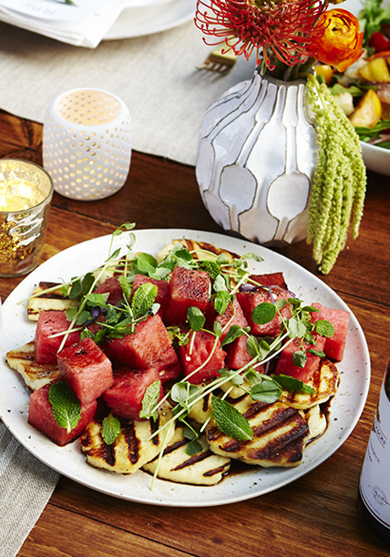Summer grilled salad recipe - The Sweet Escape