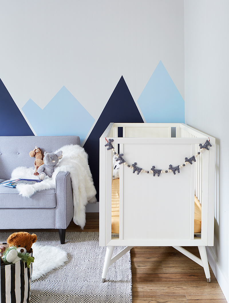 Leons Hello Holiday Look Book Nursery makeover