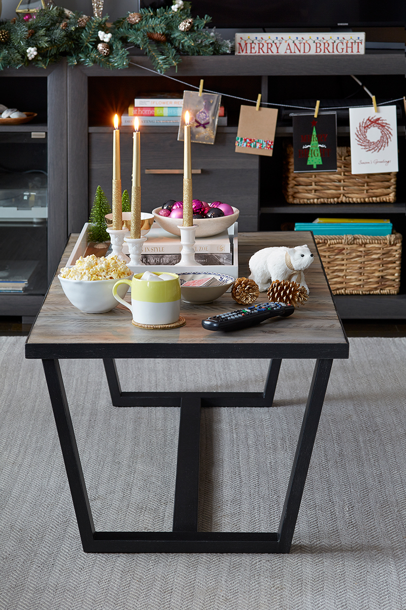 Leons Hello Holiday Coffee Table Styling