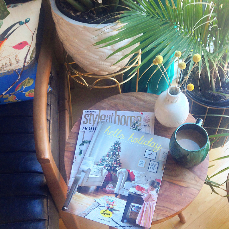 Leons Hello Holiday Style at Home Print Issue
