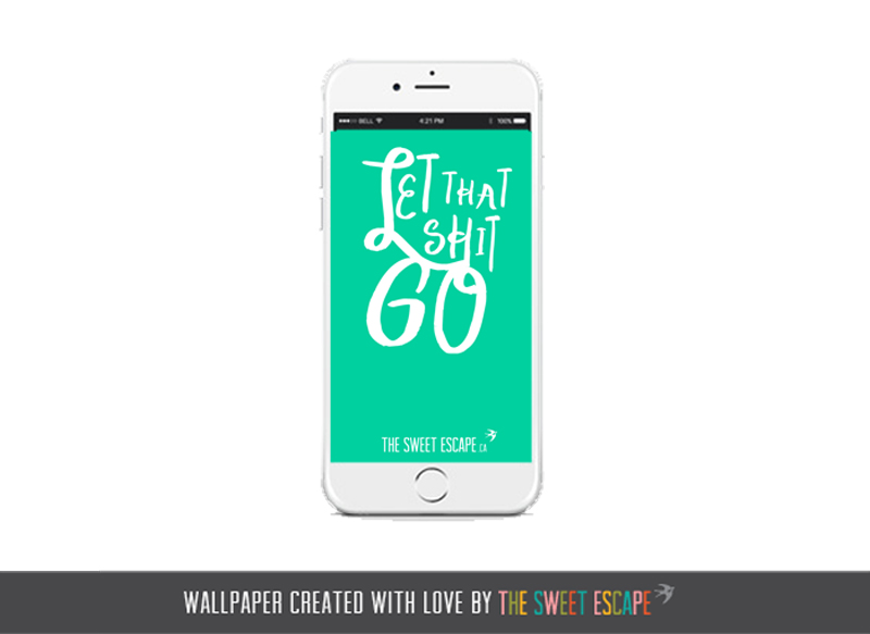 Motivational free wallpaper download by The Sweet Escape