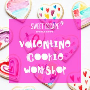 Sweet Escape Workshops - DIY Valentine Heart Cookie workshop