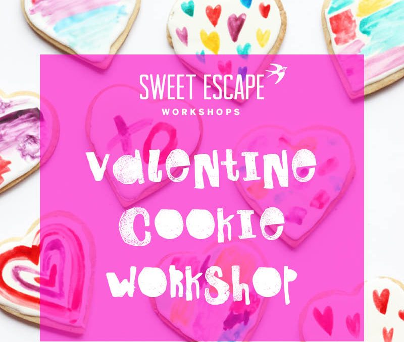 Valentine Watercolour Cookie Workshop!