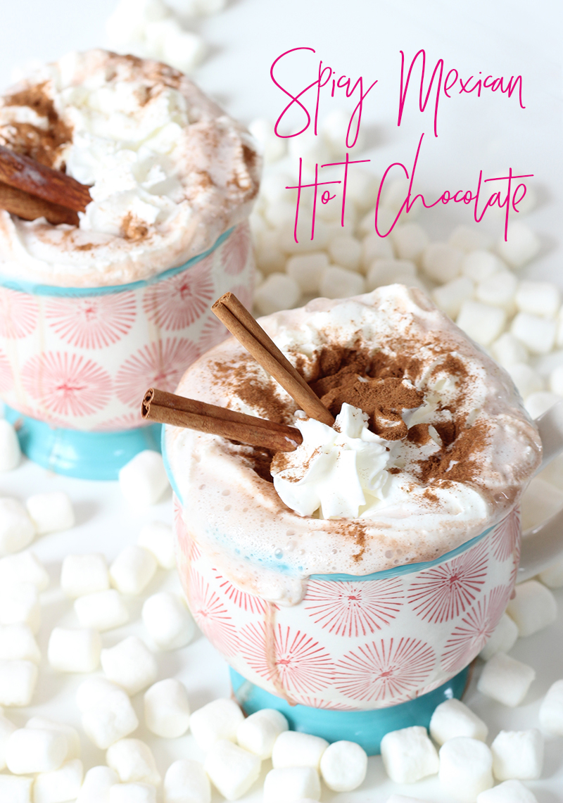 Spicy Hot Chocolate Recipe by The Sweet Escape