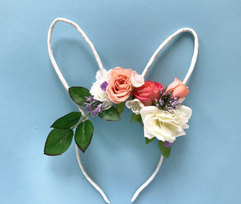 DIY: Easter Floral Bunny Ears