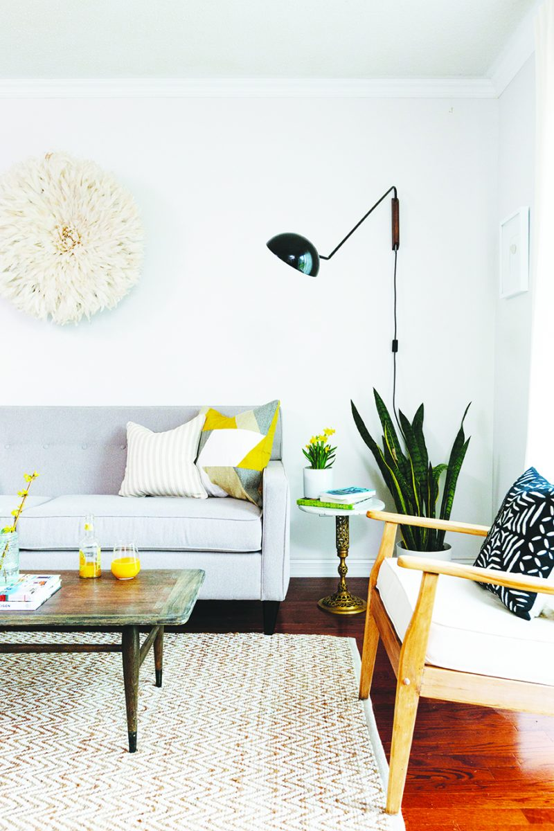 Living room featured in Hello Sunshine by Leon's furniture