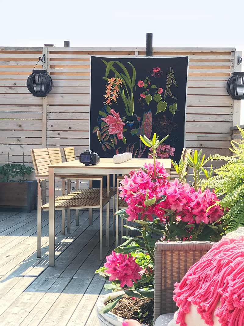 Patio Makeover by The Sweet Escape
