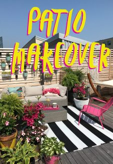 Project Sweet Escape Patio: patio makeover reveal