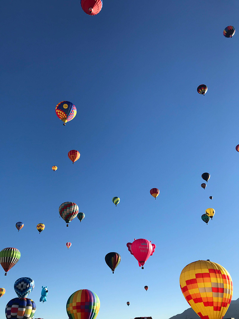 new mexico balloon fiesta by The Sweet Escape