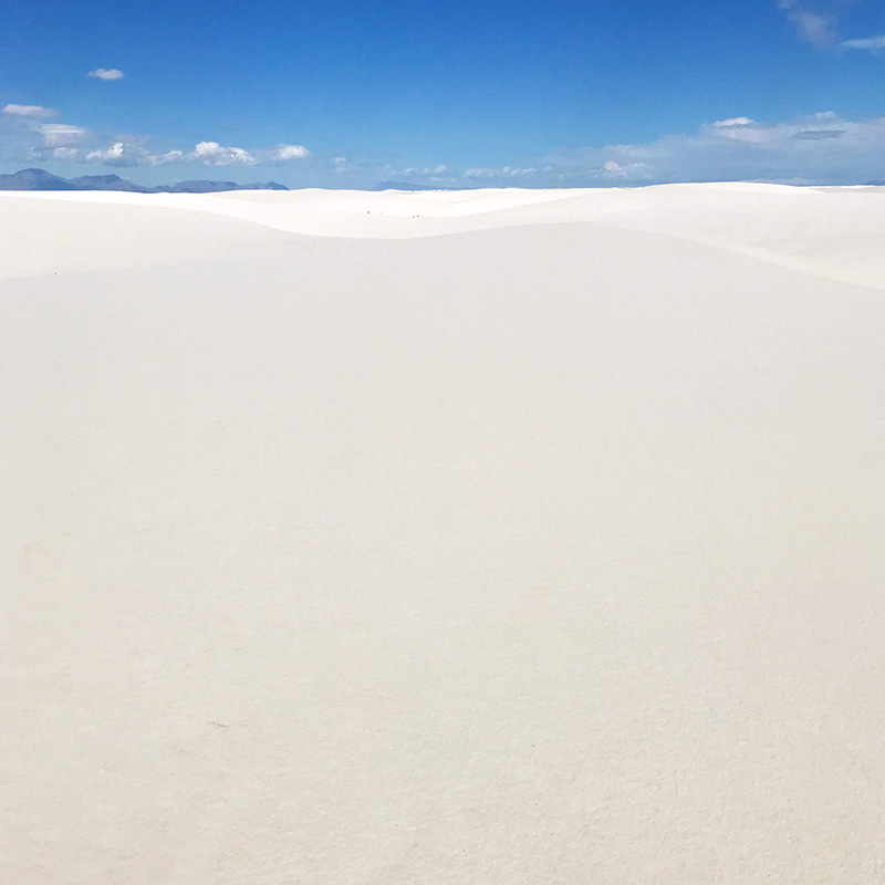 White Sand National Park New Mexico - The Sweet Escape
